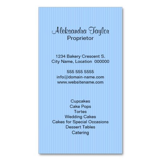 Cupcake bakery boutique business cards back side bakery card cupcake bakery boutique business cards back side colourmoves