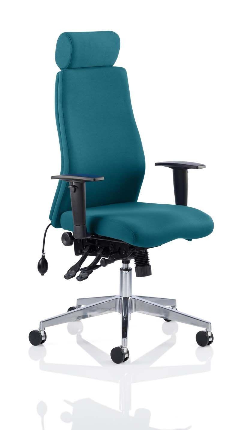 Onyx Bespoke Colour With Headrest Teal eBay Headrest