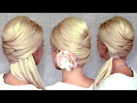 Criss Cross Hairstyles Hair Styles Long Hair Styles Hair Tutorial