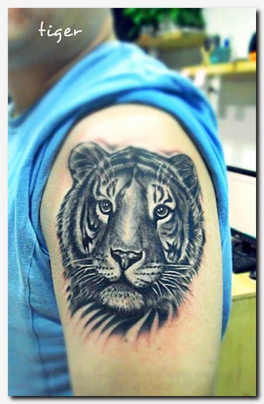 53 Outstanding Tiger Shoulder Tattoos Tiger Tattoo Design Tribal Tiger Tattoo Mens Tiger Tattoo
