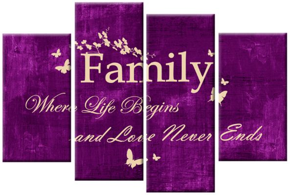 Purple Canvas Wall Art   Google Search
