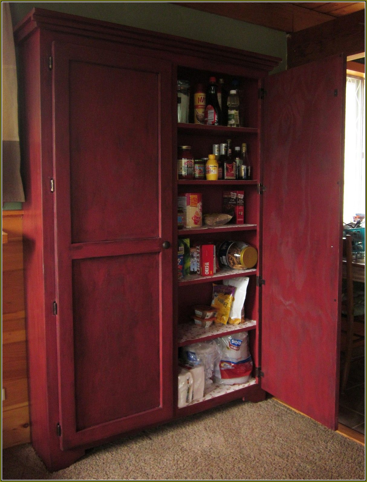Diy pantry cabinet planshome design ideas the simplest cabinetry box construction such kitchen also