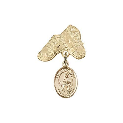 DiamondJewelryNY 14kt Gold Filled St Anthony of Padua Pendant