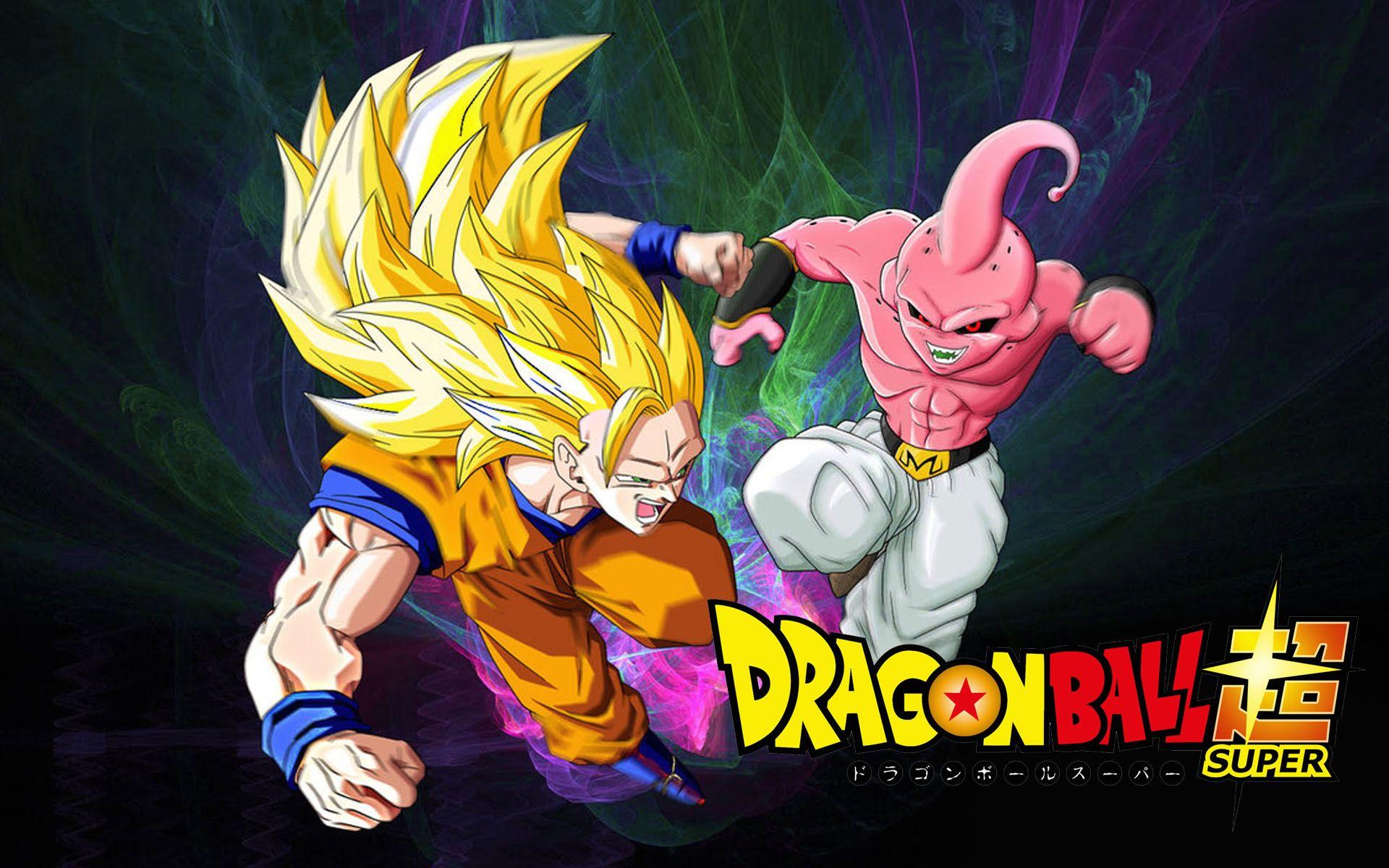 Dragon Ball Super Goku Vs Majin Buu Wallpaper
