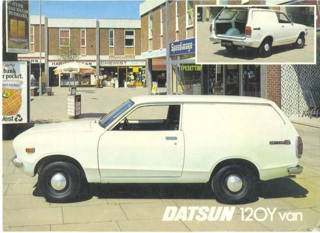 Datsun 120y Van Commercial Vehicle Datsun Datsun Pickup