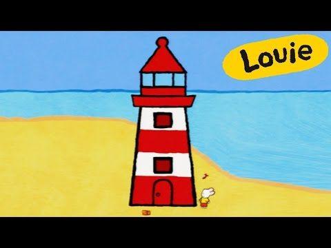 Faro Louie Dibujame Un Faro Dibujos Animados Para Nios
