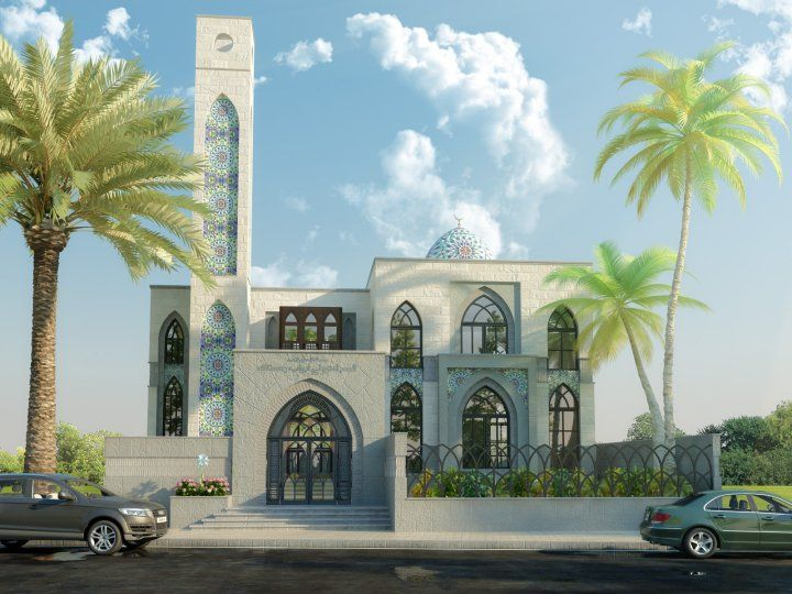 Modern mosque design layout elevation front mid century amp decorating guide froy blog