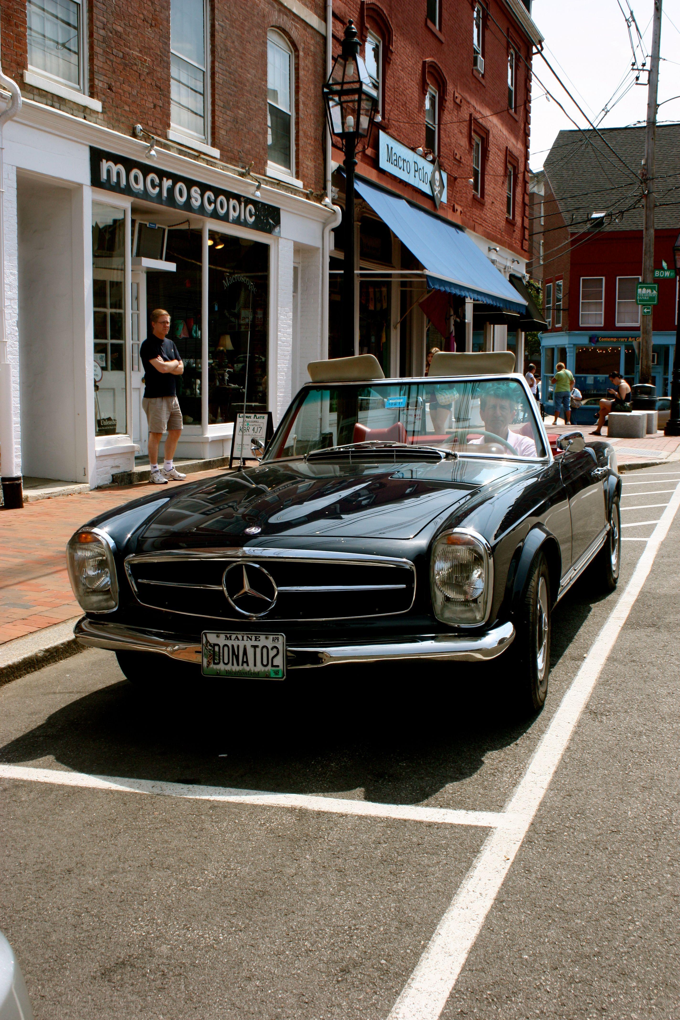 1969 MercedesBenz 250SL MercedesBenzofHuntValley