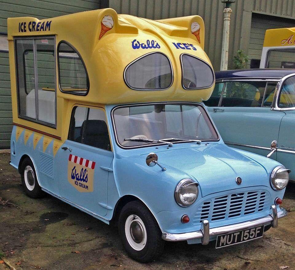 Mini Ice Cream Van In 2020 Ice Cream Van Mini Van Ice Cream Truck