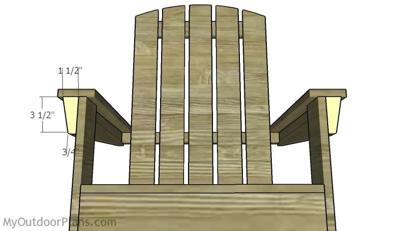 Modern Adirondack Chair Plans Myoutdoorplans Free Woodworking