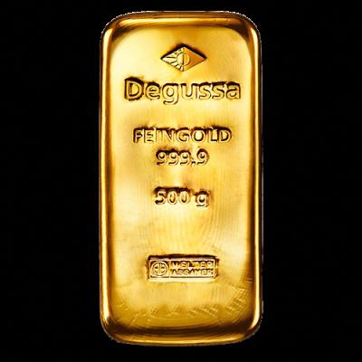 500g Gold Bullion Gold Bar Degussa Goldankauf Haeger De Goldbullion Gold Bullion Bars Gold Bullion Gold Bar