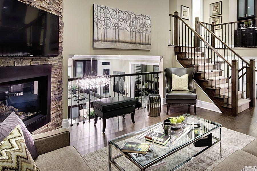 Mattamy Homes Design Center: Framing Our Mattamy Home Basement Magnolia Model Finished