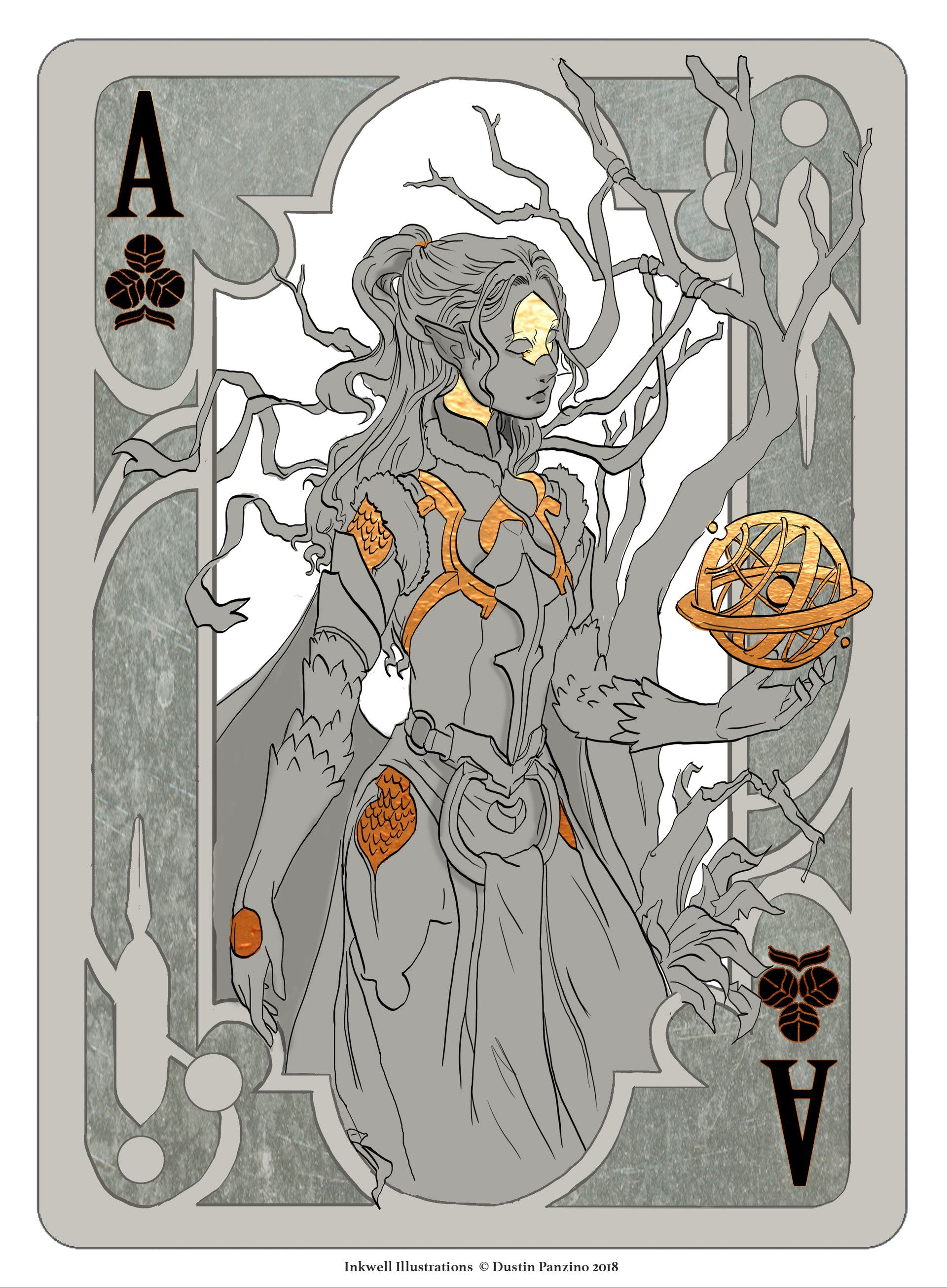Artstation Fantasy Playing Card Set Dustin Panzino Playing