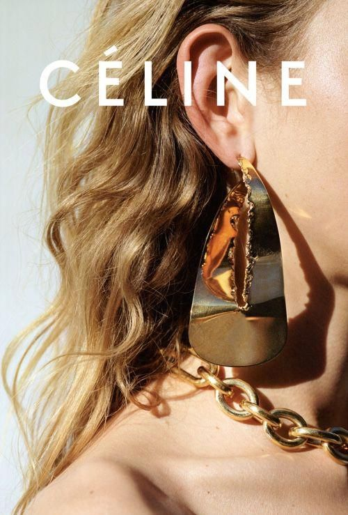 Photo of Celine Statement Jewelry #Style #Fashion #Earrings #Necklace #Goldjewelleryphotosho …