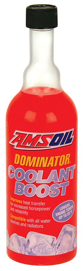 Amsoil Dominator Coolant Boost Amsoil Boosting Synthetic Oil