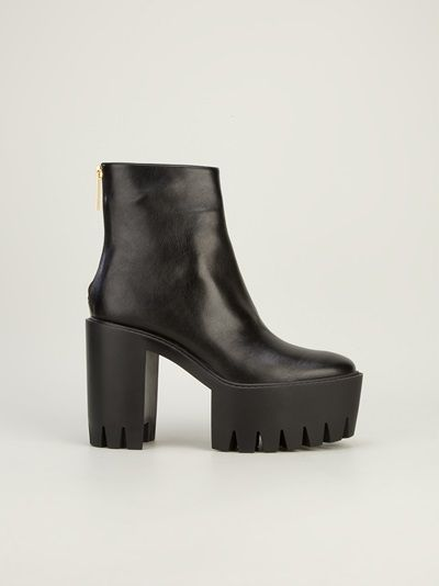 STELLA MCCARTNEY - platform ankle boot 7