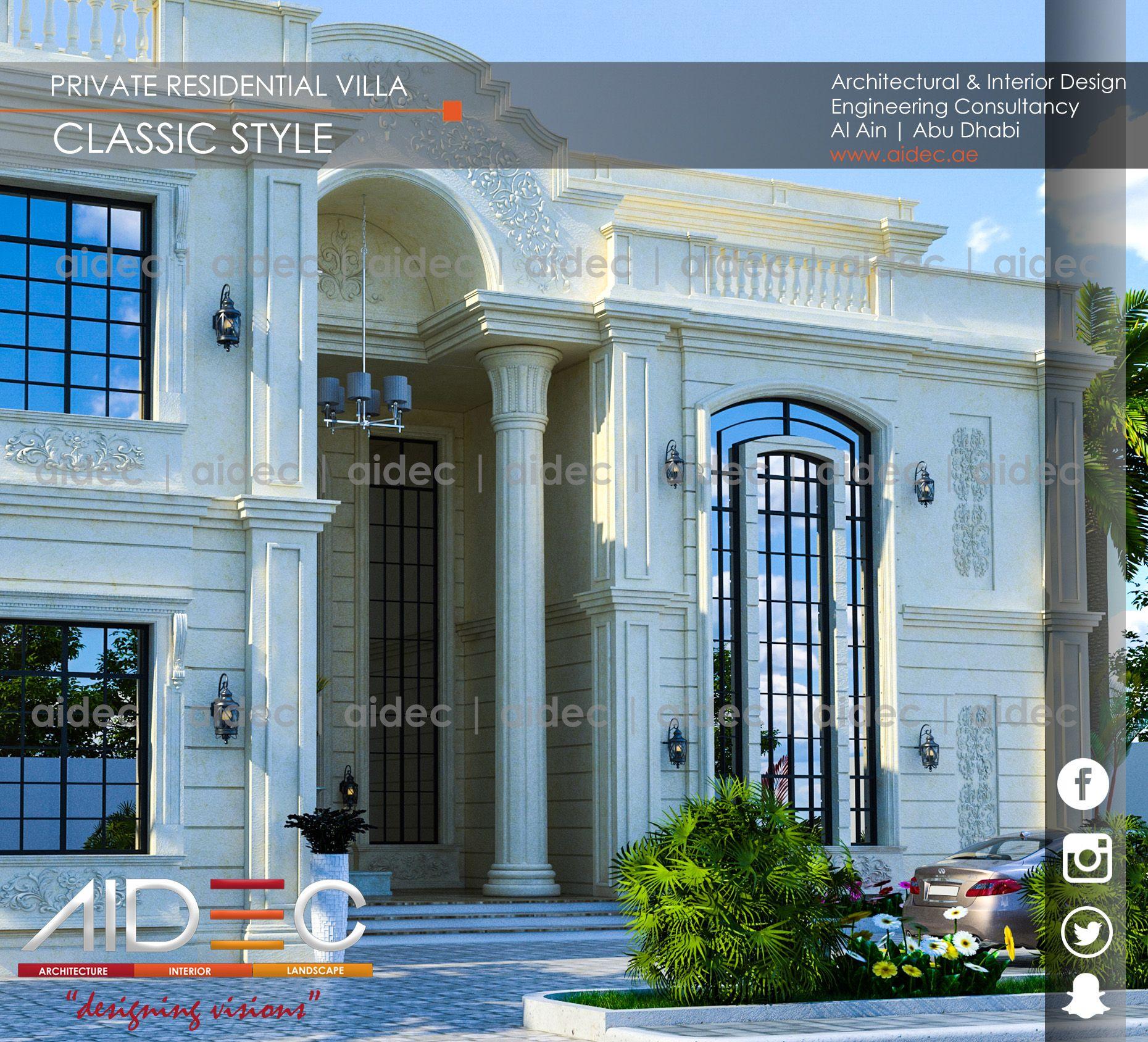 Proposed Private Residential Villa Classic Design