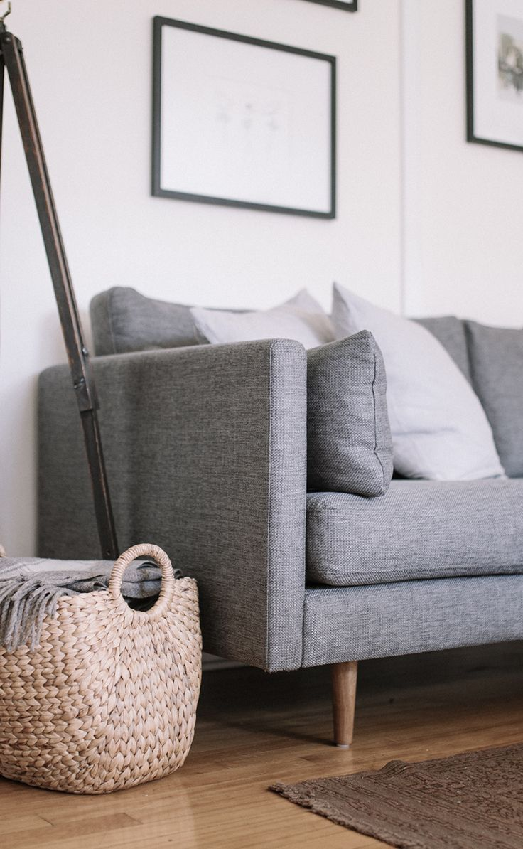 S D only problem it does not come in a sectional. ANTON sofa in  Gravel Gray   Photo by Gillian Stevens efb59bc22