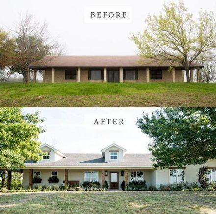 #exterior #Fixer #Ideas #Ranch #Remodel #Upper