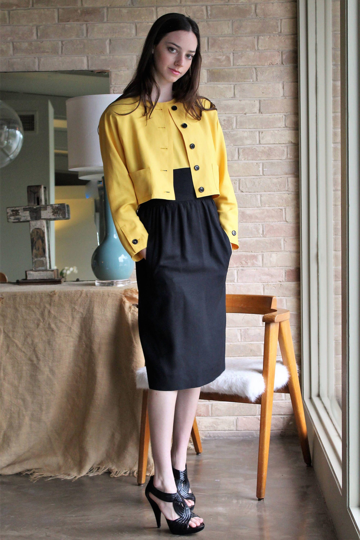 Linen Dress Outfit Women Vintage Adele Simpson Xs Small Linen