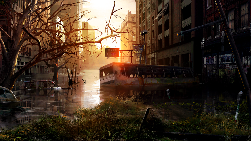 The Last Of Us Development Series Episode 2 Wasteland Beautiful The Last Of Us Game Concept Art Concept Art