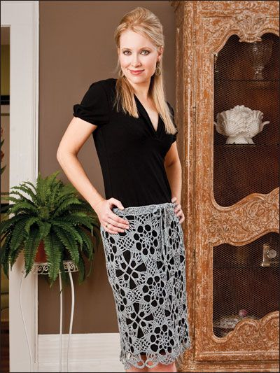 Exploded Lace Skirt Pattern Thing I Want To Try Pinterest Lace