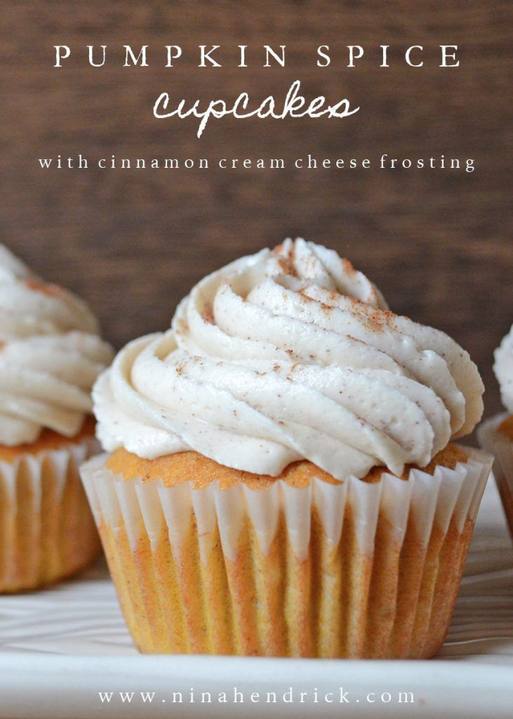 Get This Easy Recipe For The Best Pumpkin Spice Cupcakes With Cinnamon Cream Cheese Frosting