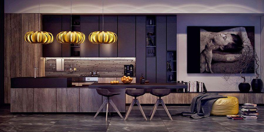 Cucine Nere di Design: 30 Modelli che vi Conquisteranno ...