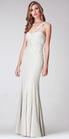 673e06a40f7 Floral Lace One shoulder Long Mermaid Dresses by Mignon  wedding  598