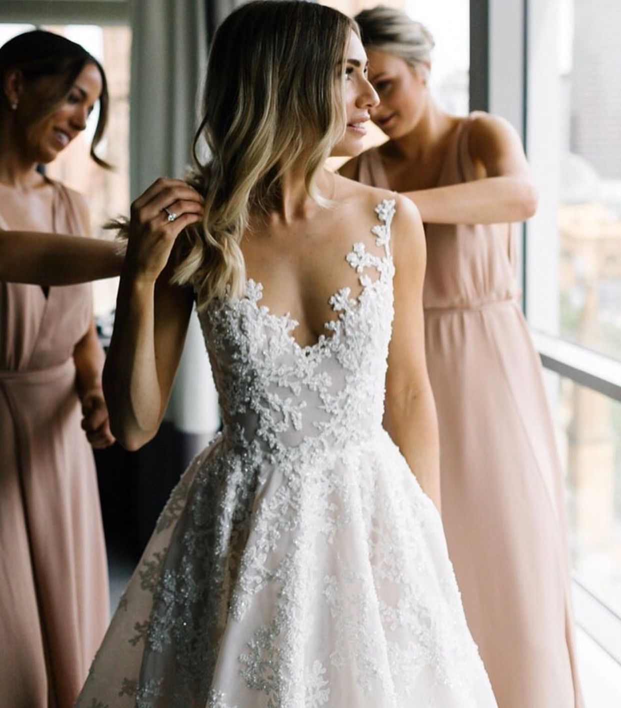 Too much cleavage wedding dress  Pin by Haley LaBrasca on Wedding  Pinterest  Wedding Wedding