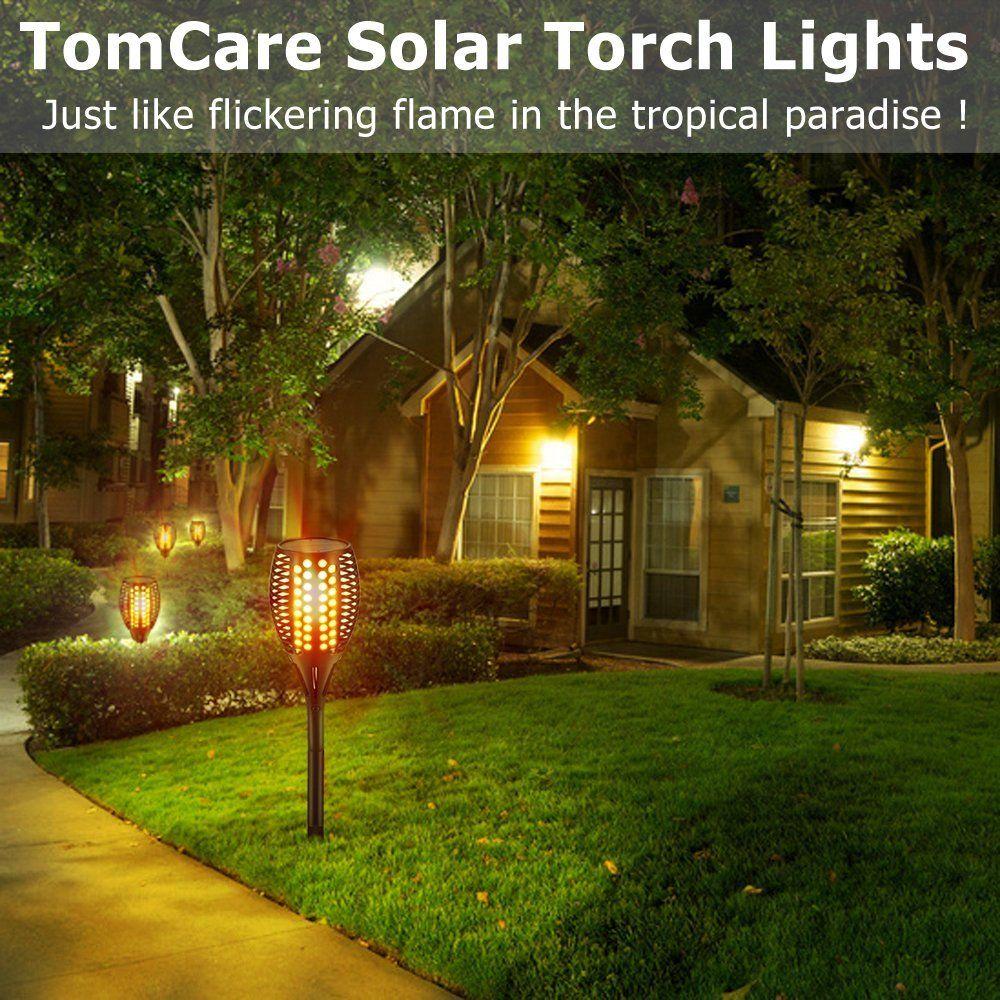 Torches Lights Outdoor Landscape Decoration Lighting Dusk Outdoor Solar Lights Outdoor Solar Solar Lights