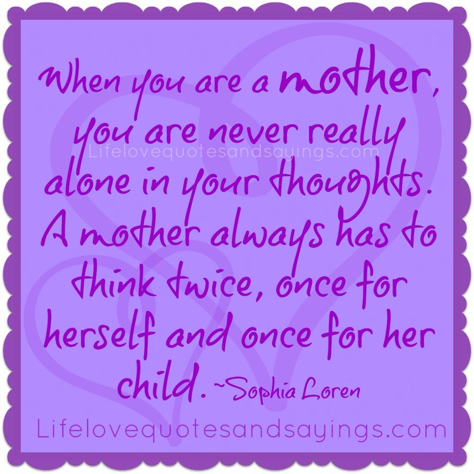 A Mothers Love Quotes 2 Gorgeous Purple Daughter Quotes  When You Are A Motheryou Are Never