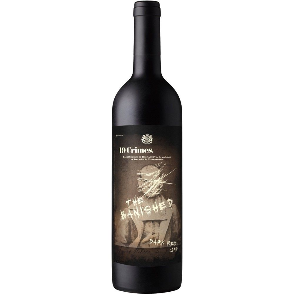19 Crimes The Banished Dark Red Wine 750ml Bottle Vinos