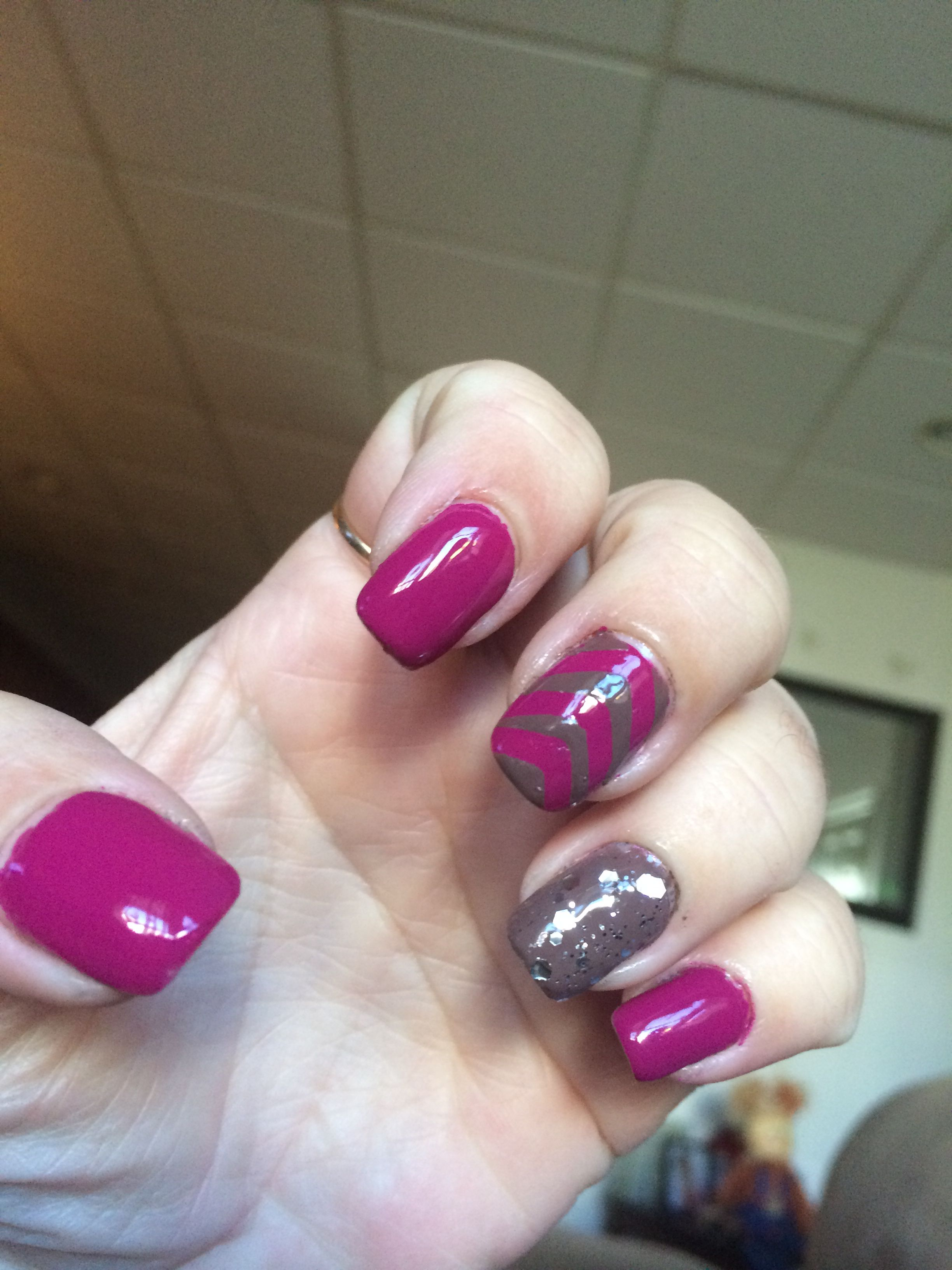 Fall color nails | Pretty manicures by Dee.Burke | Pinterest | Color ...