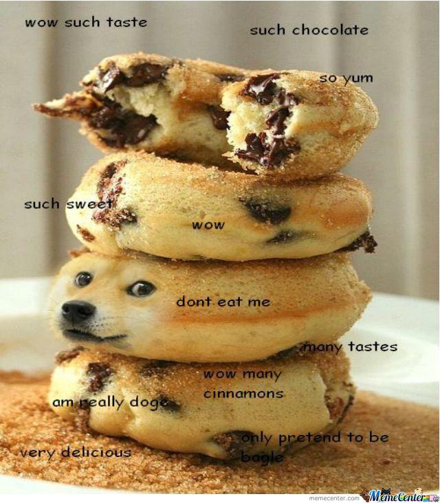 Image result for doge doughnut