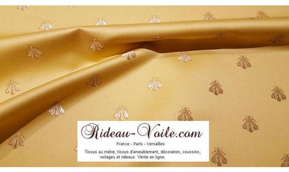 Rideau style Empire motif abeilles luxe