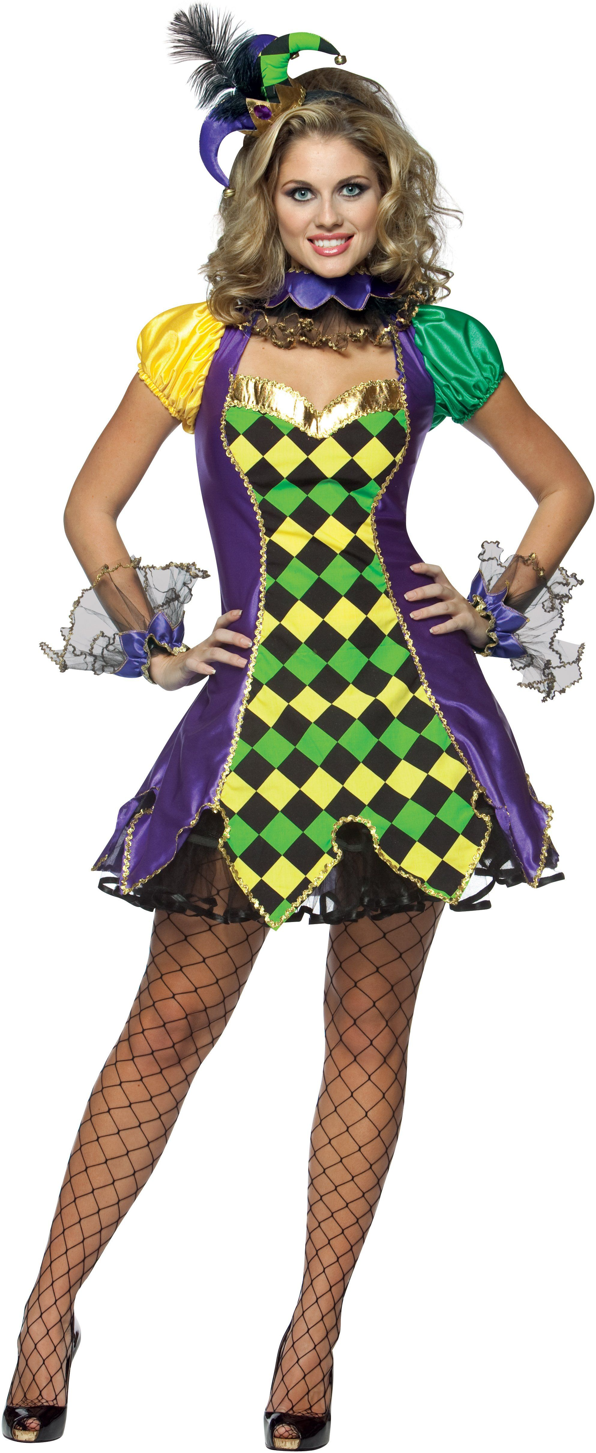 7b0d96f5554af Nice Costumes Mardi Gras Jester Woman Costume just added...   mardi ...