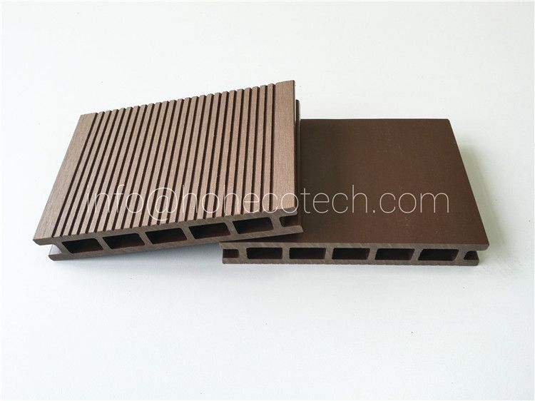 145H21-H composite wood roof deck, Hollow Decking - HOH Ecotech WPC