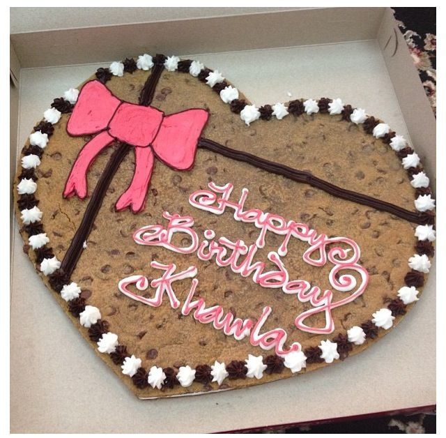 Astonishing Kawaii Yum Cookie Cake Ideas And Designs Cookie Cake Birthday Funny Birthday Cards Online Sheoxdamsfinfo