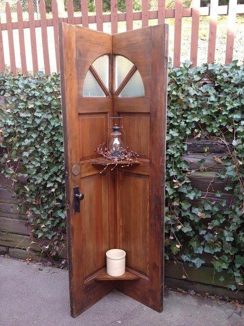 Dishfunctional Designs New Looks For Old Salvaged Doors More Repurposed Door Ideas! & New Looks For Old Salvaged Doors: More Repurposed Door Ideas ...