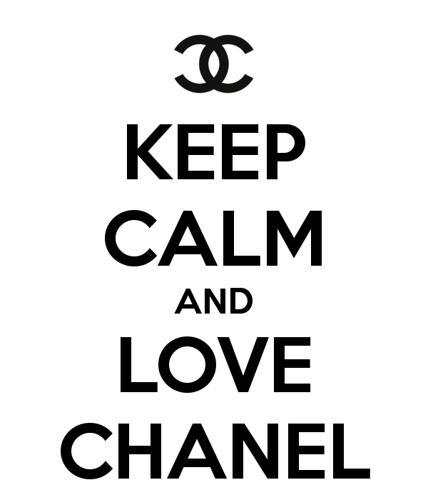 chanel logo wallpaper keep calm and love chanel keep