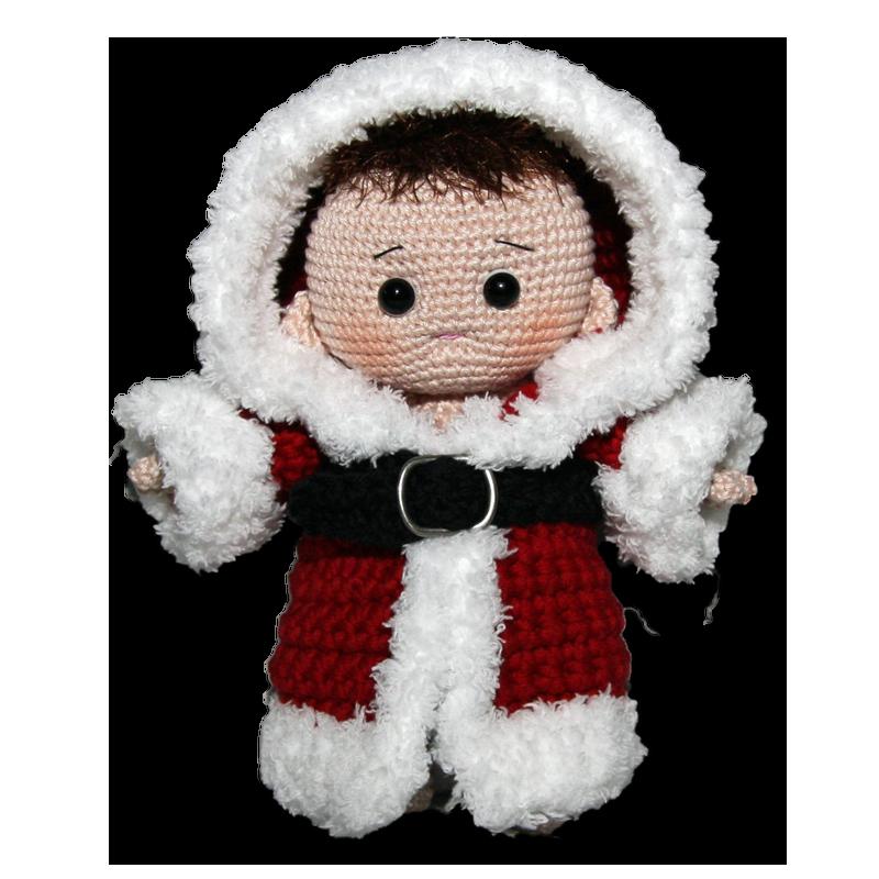 Christmas Santa baby, free crochet pattern, not in English ...