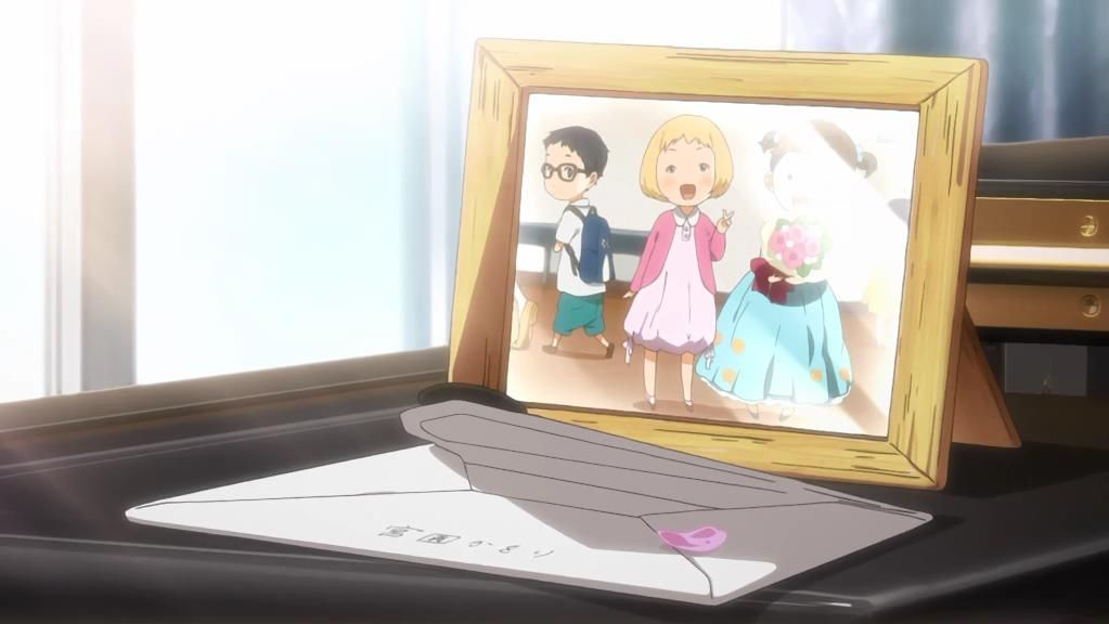 Your Lie in April   Kaori Kimiuso's letter (picture) | Anime