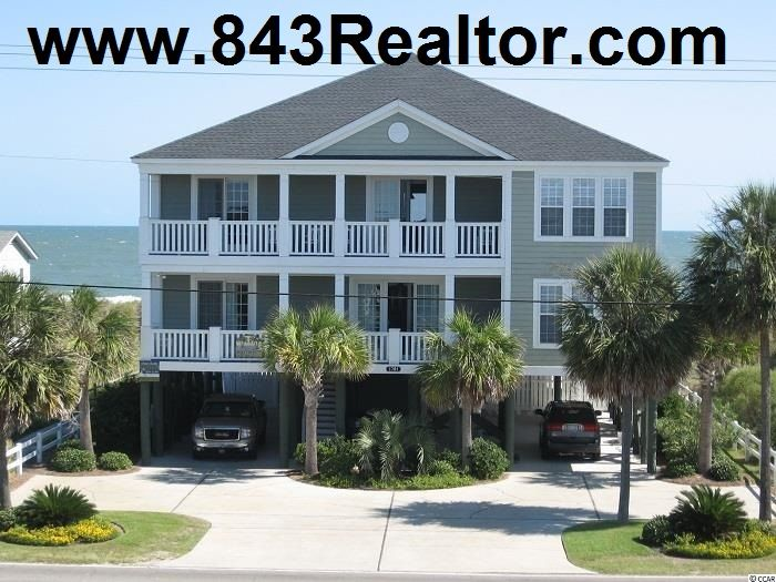 Garden City Beach In South Carolina Oceanfront Home For Sale Http Www 843realtor Com Myrtle Bea With Images Myrtle Beach Real Estate Garden City Beach Ocean Front Homes