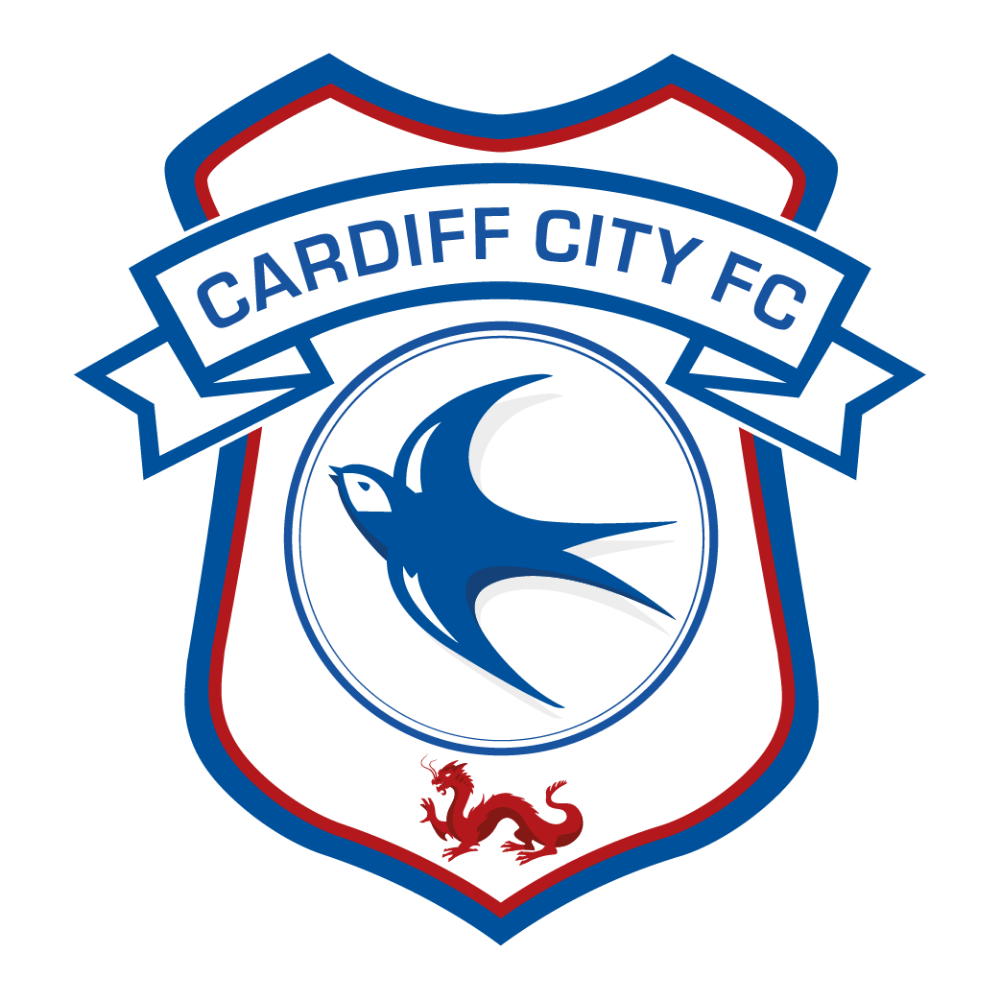 Cardiff City Football Club Logo In 2020 Cardiff City Football Cardiff City Logos