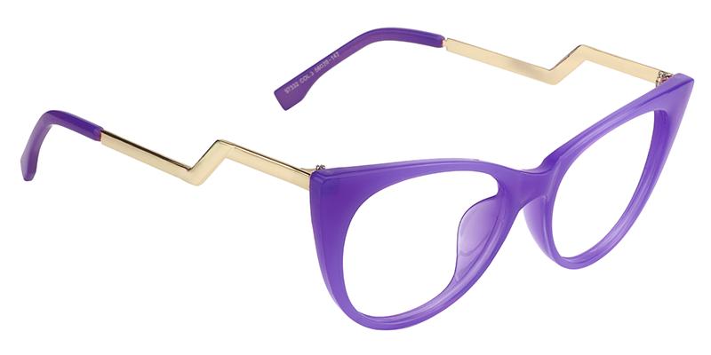5f9dad081b Susanna Cat Eye Purple Glasses FP0660-01