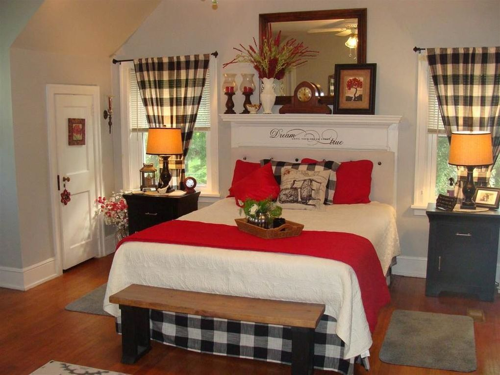 Guest Bedroom With Buffalo Checks Love This Remodel