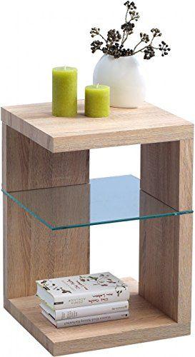 Hometrends4you 515742 Beistelltisch Nachttisch 40 X 60 X 40 Cm Dekor Sonoma Eiche Muebles Pequenos Diy Muebles Ideas Muebles De Pales