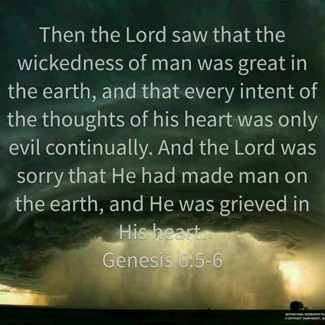 Image result for Genesis 6:5 kjv