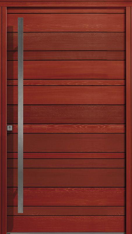 Modèle Nativ 3 - Porte D'Entrée Red Cedar By Zilten | Nativ | Doors